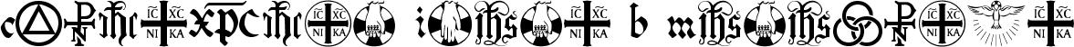Christian Icons B Monograms
