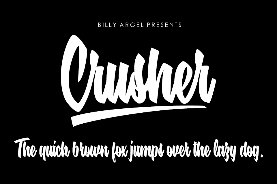 Crusher Personal Use