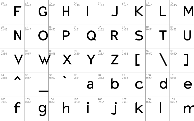 Download Charger Monospace Mac font - free for Personal