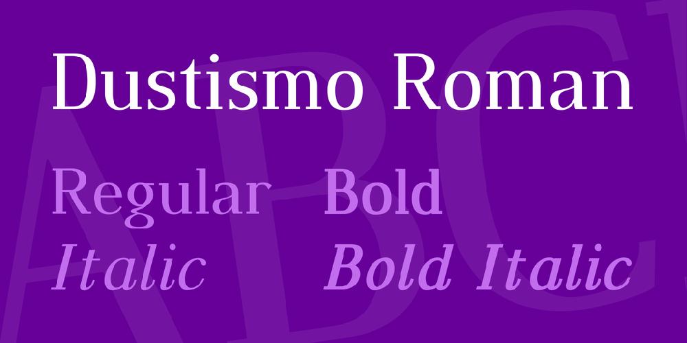 Dustismo Roman