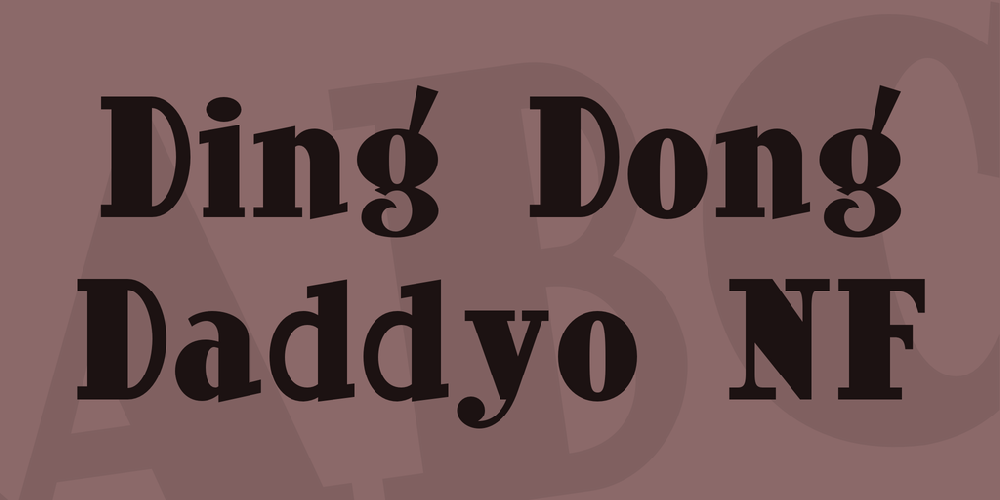 Ding Dong Daddyo NF