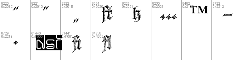 Deutsche Zierschrift