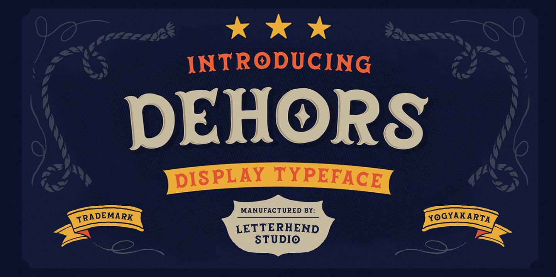 Dehors Display DEMO