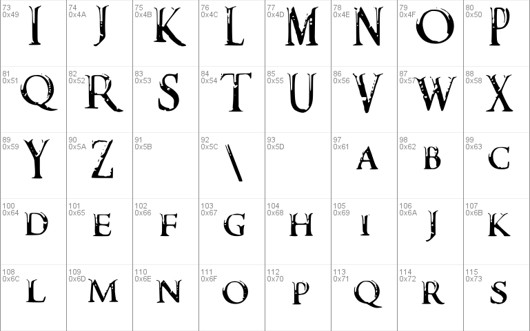 Darks Skyrim Font font - free for Personal | Commercial