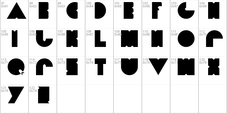 Diet Pacman Font Free For Personal
