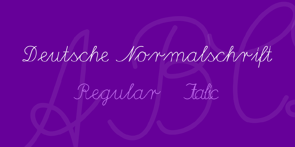 Deutsche Normalschrift Windows Font Free For Personal Commercial