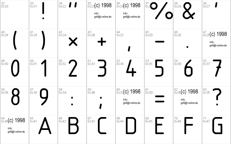 DIN 6776 font - free for Personal