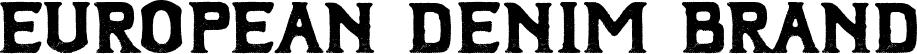 European Denim Brand