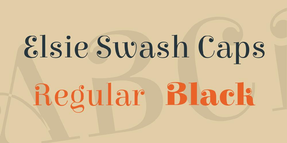 Elsie Swash Caps