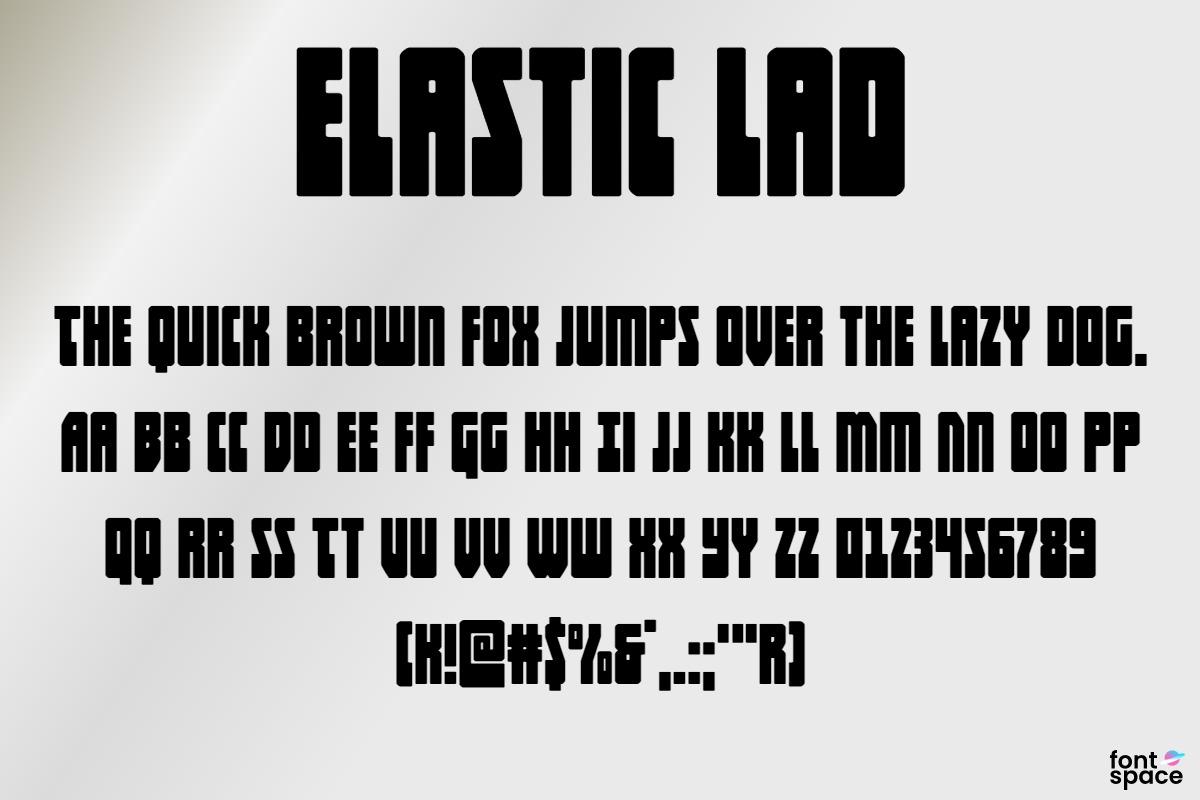 Elastic Lad Expanded SuperItal