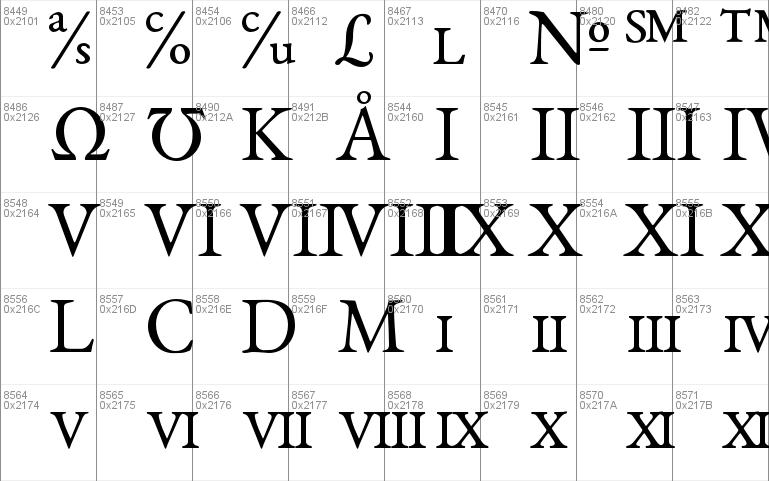 EB Garamond Windows font - free for Personal