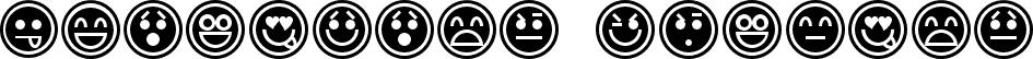 Emoticons Outline