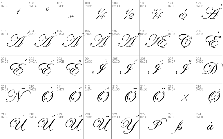 Edwardian Script ITC font - free for Personal