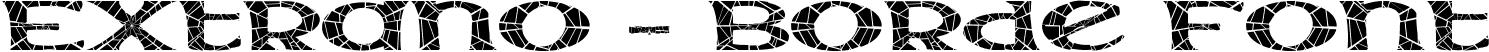 Extrano - Borde Font