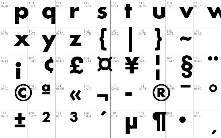 Futura PT Windows font - free for Personal