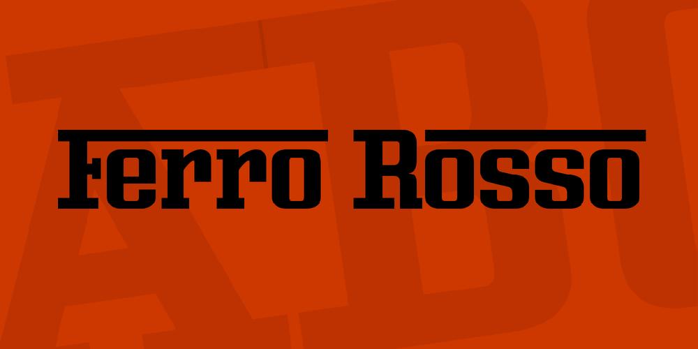 Ferro Rosso