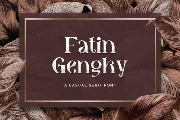 Fatin Gengky