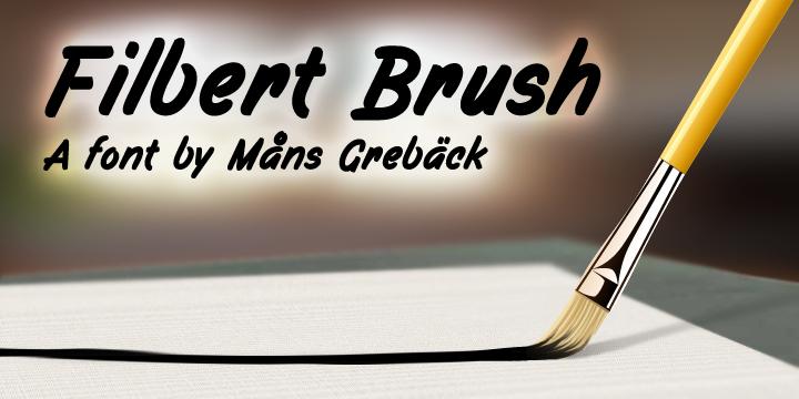 Filbert Brush