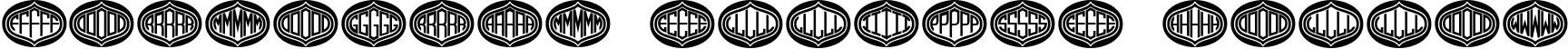 Formogram Ellipse Hollow