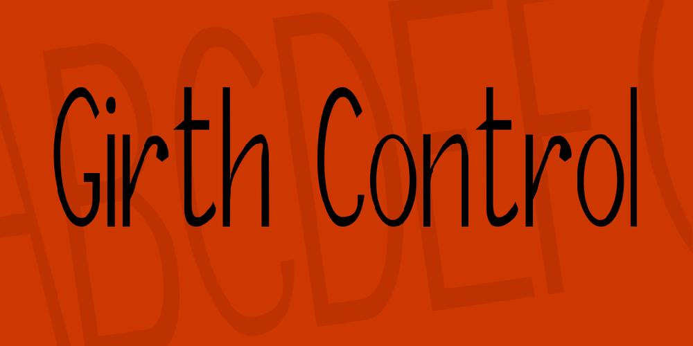 Girth Control