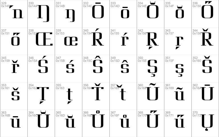 Giveny serif