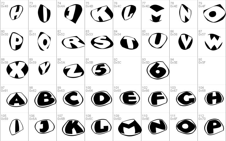 Glyptographs