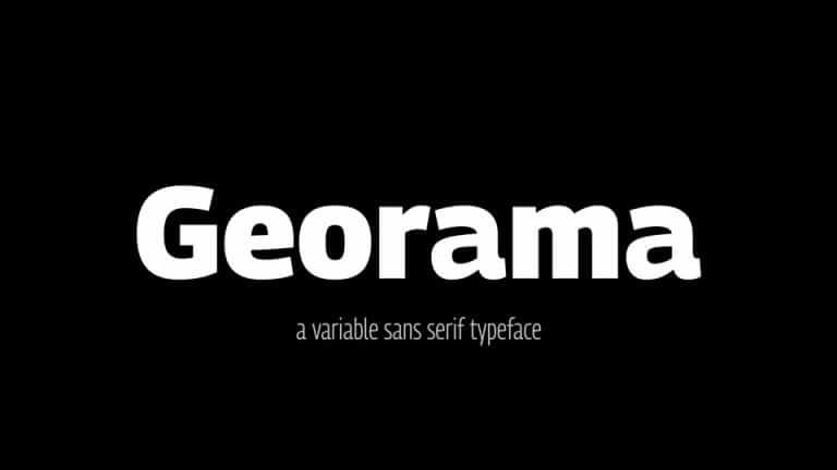 Georama Black