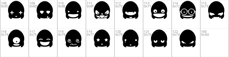 Ghost Punk Smileys