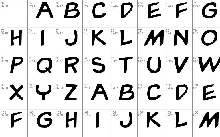 Garfield Font Free For Personal Commercial