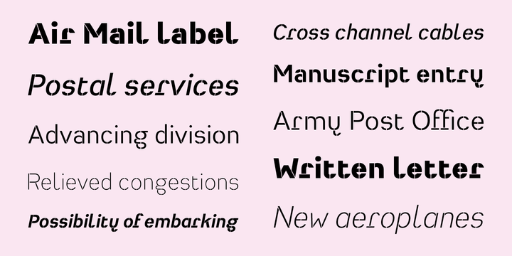 Heimat Stencil 5 font - free for Personal