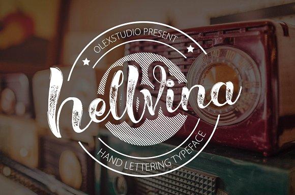 Hellvina Hand Script