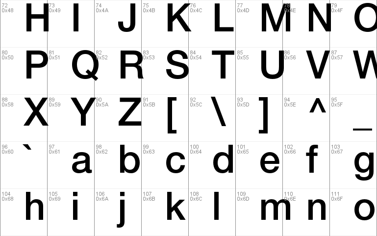 Helvetica Neue font - free for Personal
