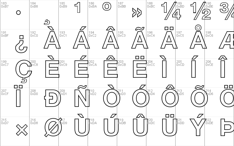 Helvetica Neue LT Pro font - free for Personal