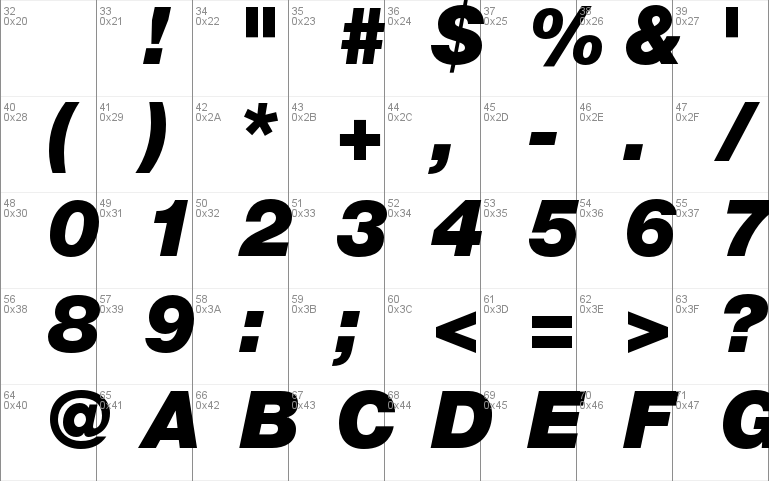 Helvetica Neue LT Std font - free for Personal
