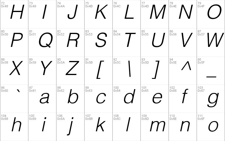 Helvetica-Light Windows font - free for Personal
