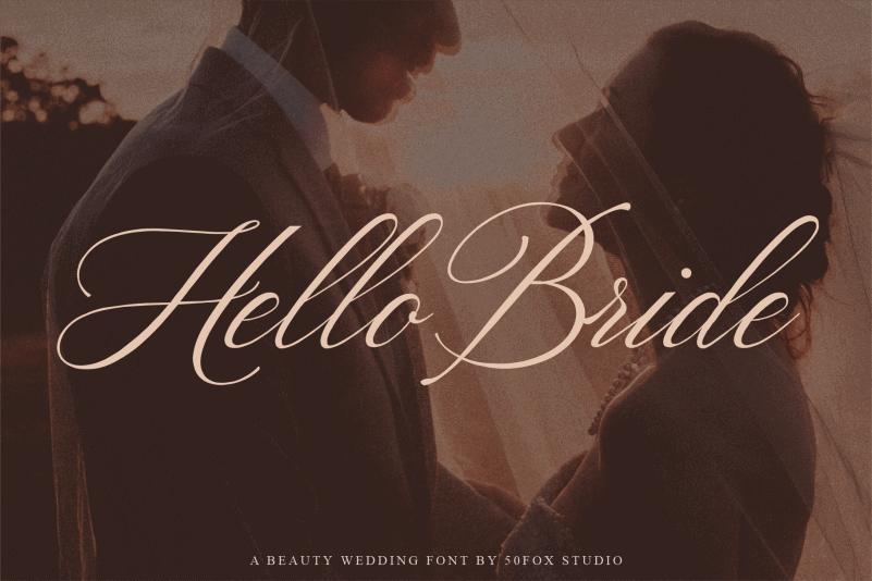 Hello Bride Script