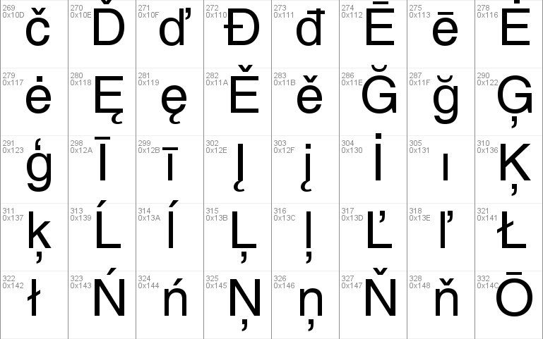 Helvetica font - free for Personal