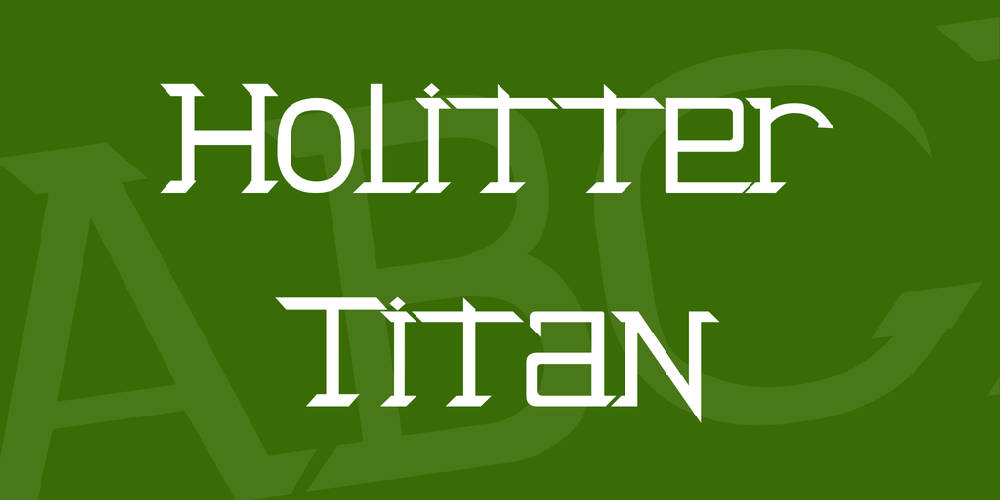 Holitter Titan