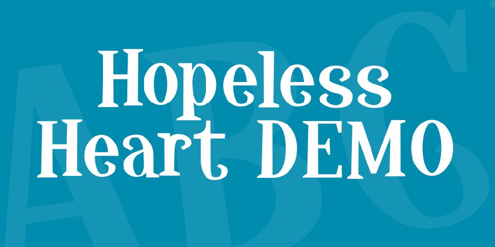 Hopeless Heart DEMO