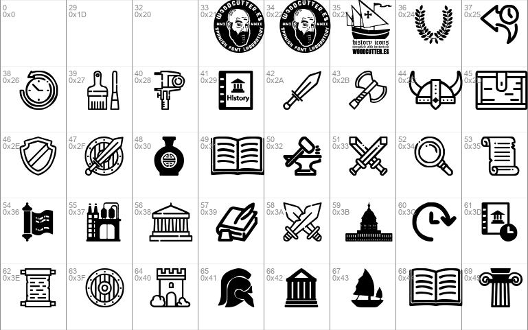 History Icons