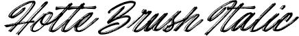 Hotte Brush Italic