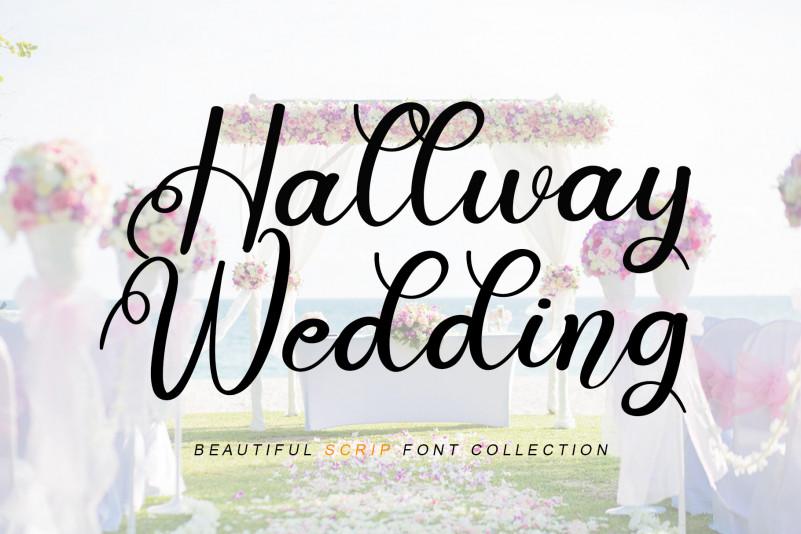 Hallway Wedding