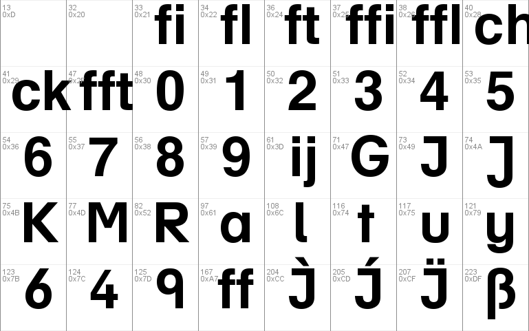 Helvetica Profi font - free for Personal