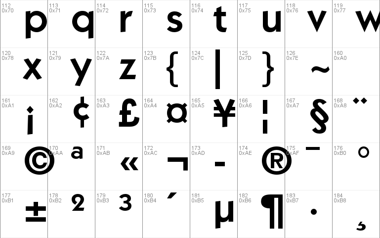 ITC Kabel Std font - free for Personal