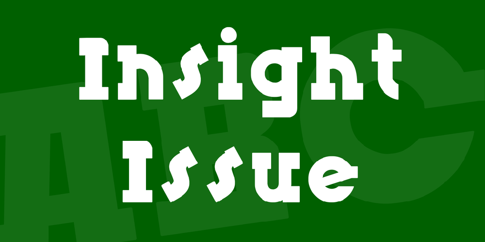 Insight Issue