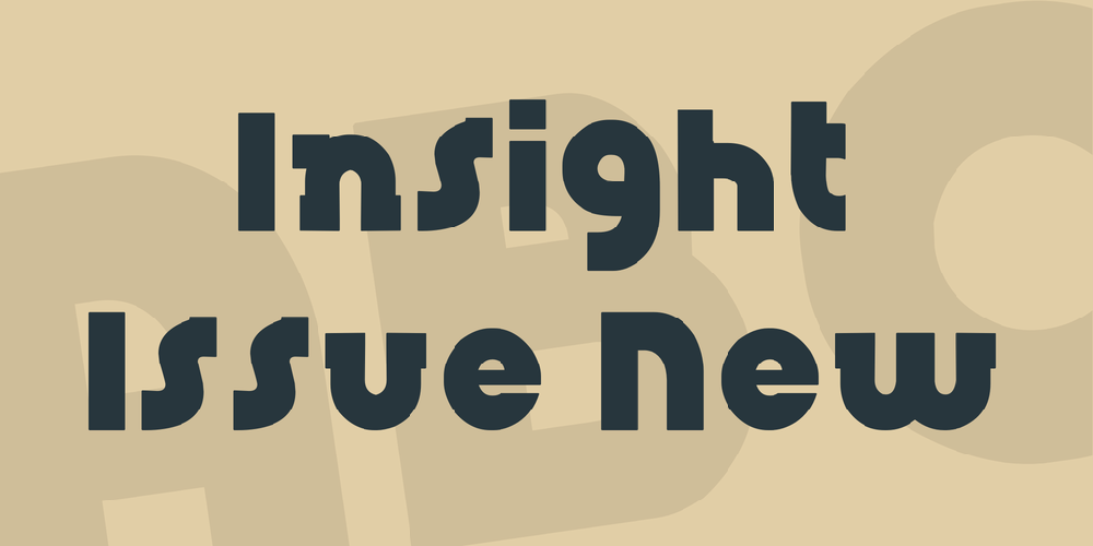 Insight Issue New