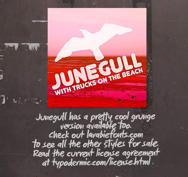 Junegull скачать шрифт.