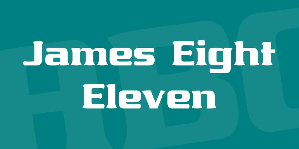 James Eight Eleven