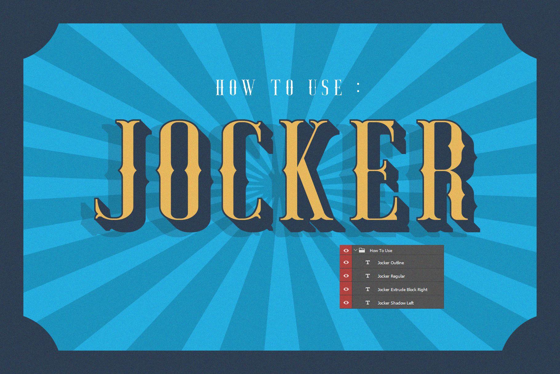 Jocker Free Extrude Right