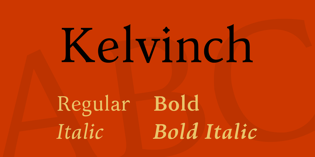 Kelvinch Windows font - free for Personal | Commercial